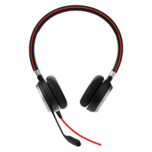 Слушалки с микрофон Jabra EVOLVE 40 MS Duo, Noise