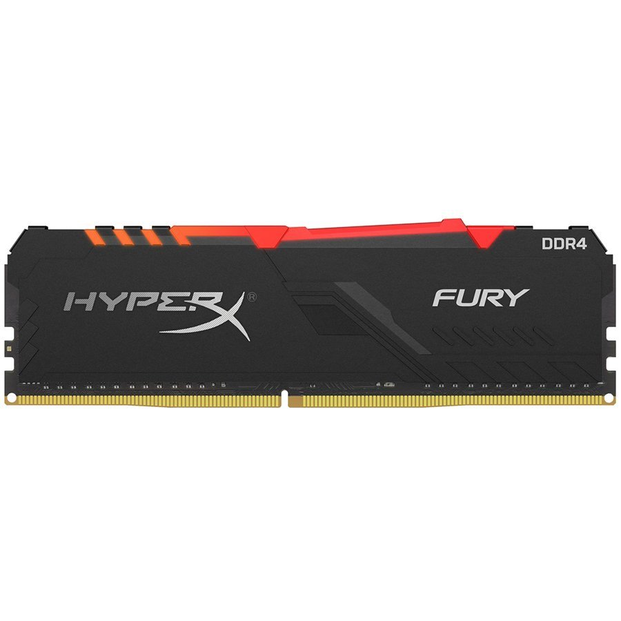 Kingston DRAM 16GB 3600MHz DDR4 CL17 DIMM HyperX FURY RGB EAN: 740617302646