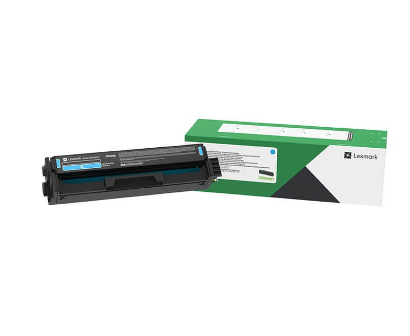 Lexmark C3220C0 Cyan Return Programme Print Cartridge
