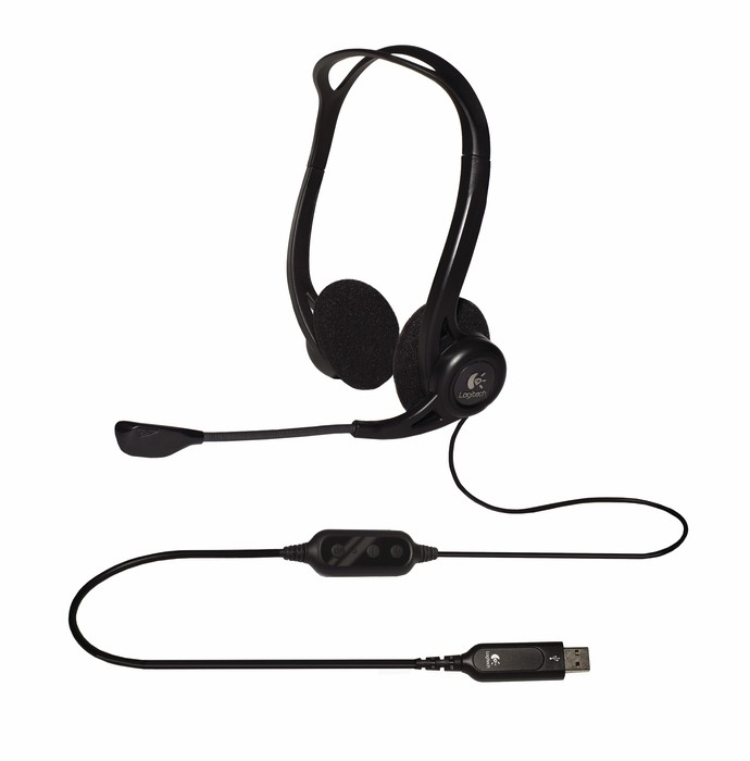 Logitech PC 960 Stereo Headset USB, OEM-1-3-3