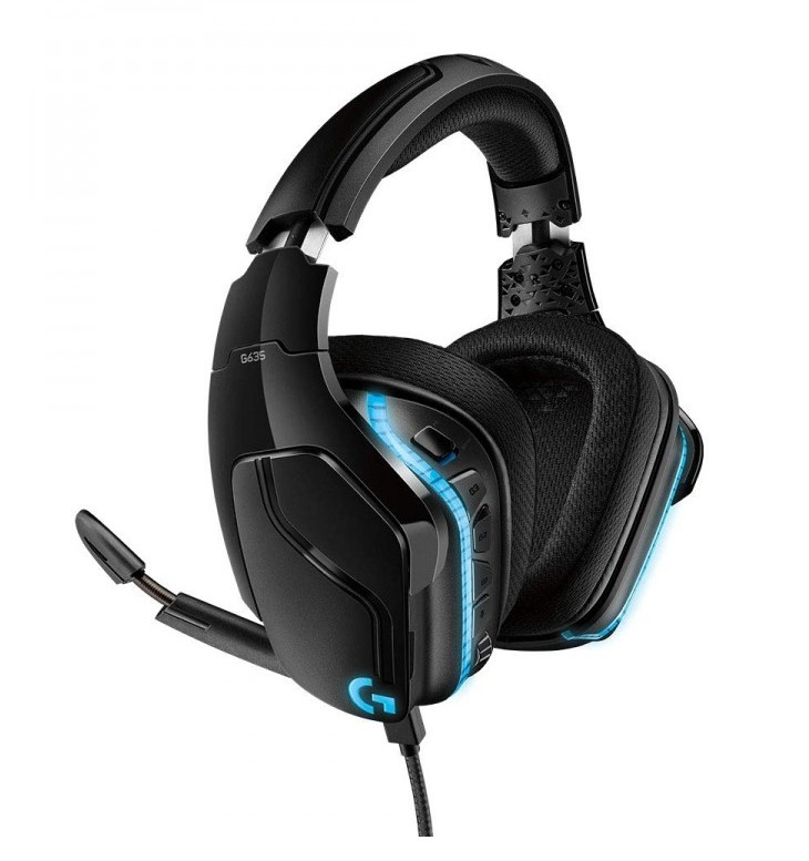 Logitech G635 7.1 Lightsync Gaming Headset-2-2-2