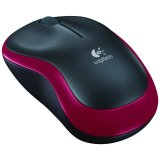 LOGITECH Wireless Mouse M185 - EWR2 - RED