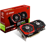 MSI Video Card GeForce GTX 1050 Ti GAMINGX GDDR5 4GB