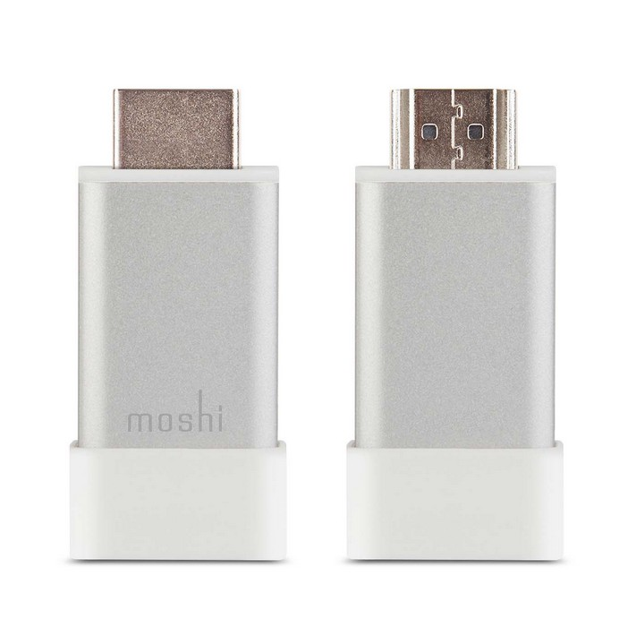 Moshi HDMI to VGA Adapter, with Audio jack, Silver