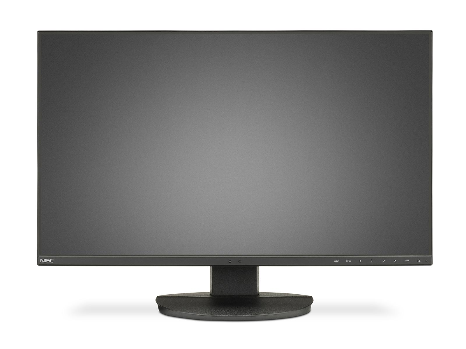 Монитор NEC MultiSync EA271F, AH-IPS, 27 inch, Wide, Full HD, DisplayPort, HDMI, DVI-D, D-sub, Черен