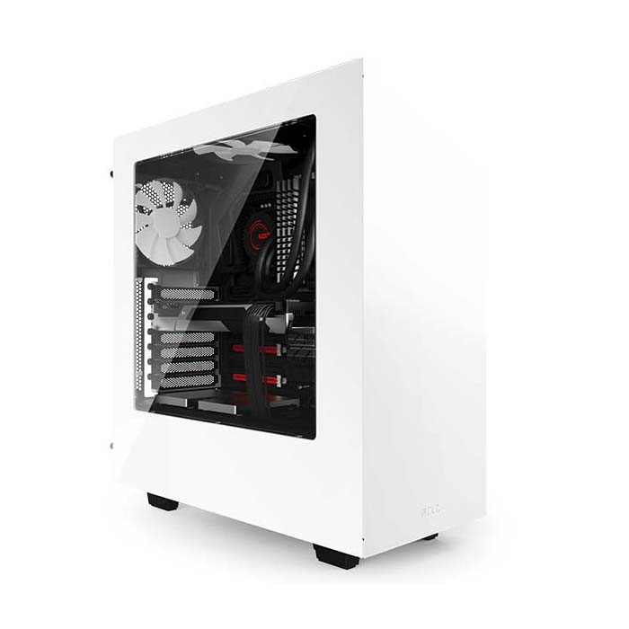 Кутия NZXT SOURCE 340/MID TOWER/WH