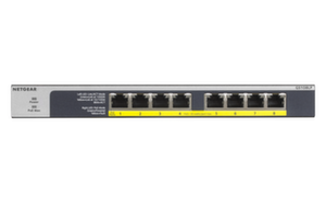 Суич Netgear GS108LP, 8x 10/100/1000 ProSafe Gigabit switch, 8x