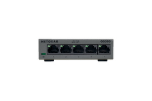 Суич Netgear GS305, 5 x 10/100/1000 Gigabit Switch metal