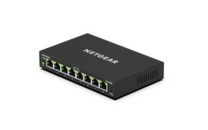 Суич Netgear GS308E, 8 x 10/100/1000 Smart PLUS Gigabit