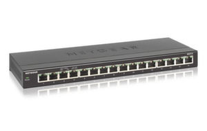 Суич Netgear GS316, 16 x 10/100/1000 Gigabit Switch metal