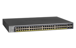 Суич Netgear GS752TP, 48 x 10/100/1000 PoE and 4