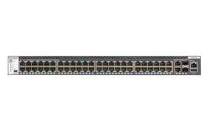 Суич Netgear M4300-52G, 48 x 10/100/1000, Stackable Smart Switch