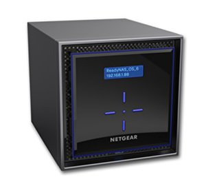 Сторидж Netgear ReadyNAS 424 4 BAY DISKLESS