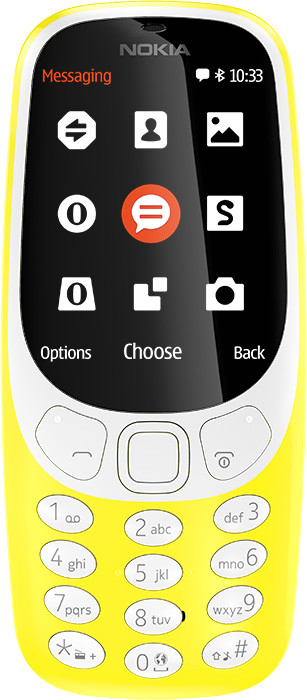 NOKIA 3310 DS YELLOW