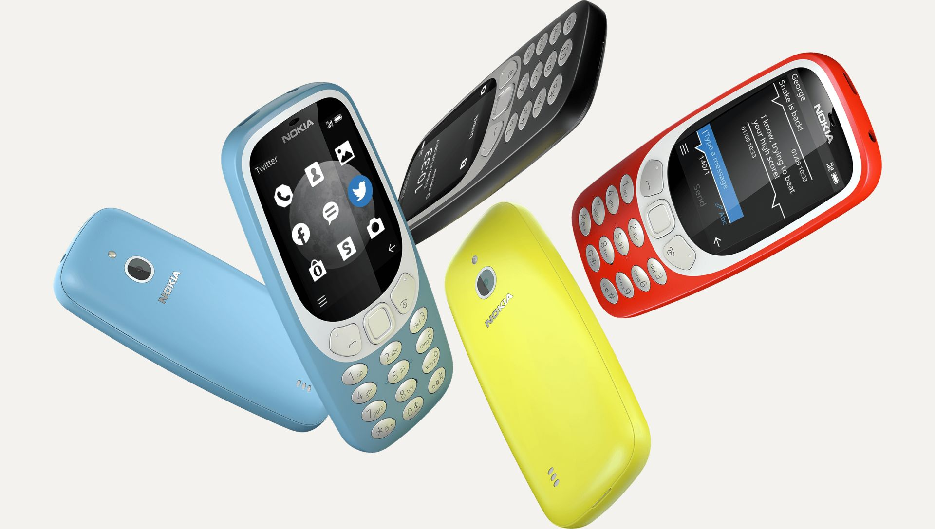 NOKIA 3310 3G SS CHARCOAL-2-1-4