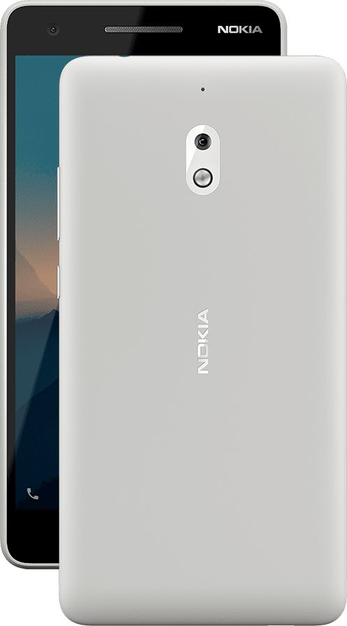 NOKIA 2.1 DS GRAY/SILVER
