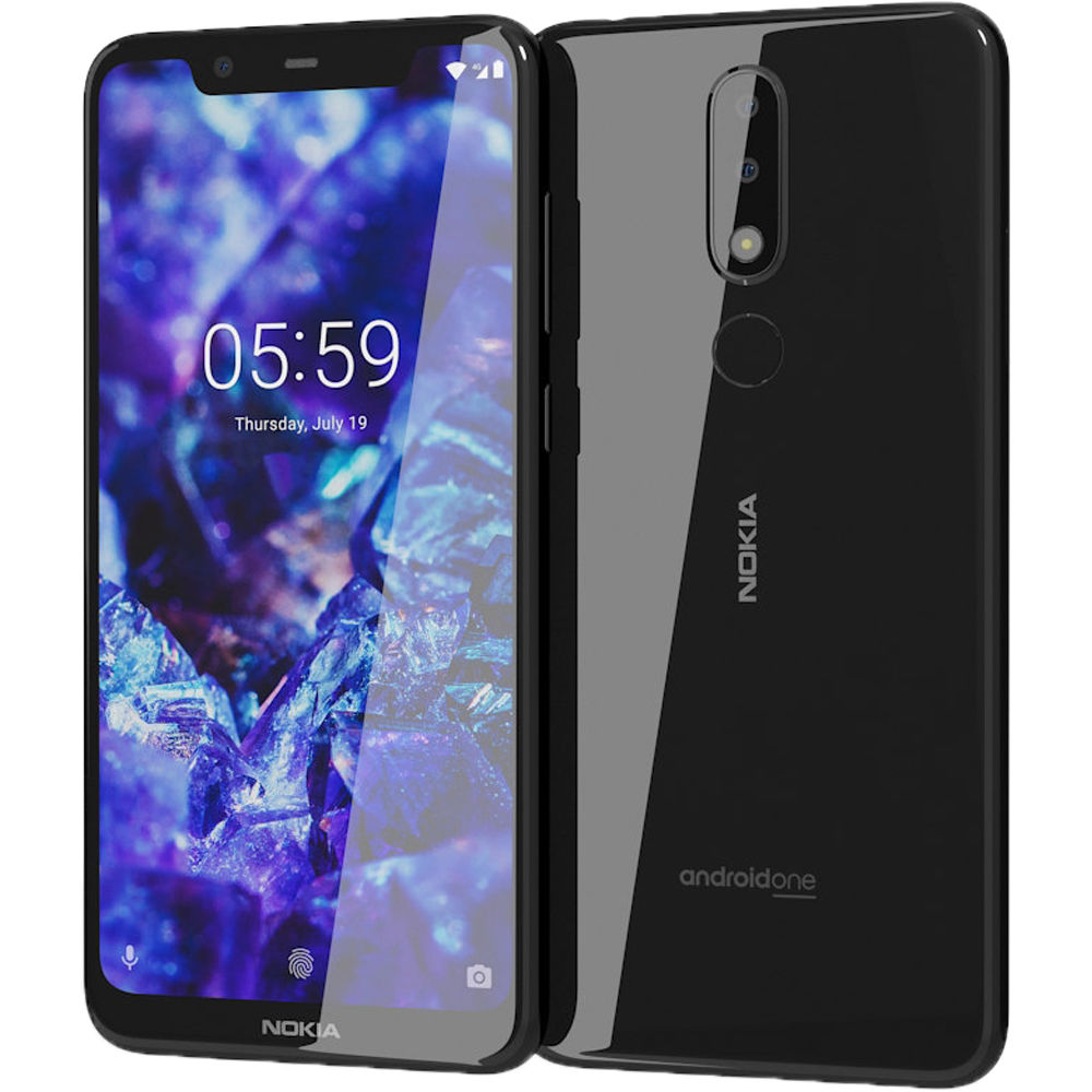 NOKIA NOKIA 5.1 PLUS DS BLACK
