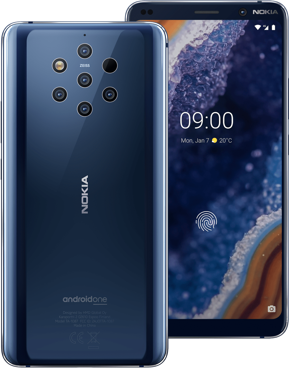 NOKIA 9 PUREVIEW DS BLUE