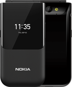 NOKIA 2720 DS FLIP COVER BLACK