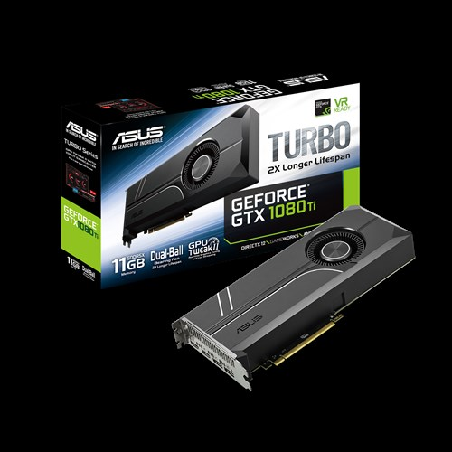 Видео карта Asus TURBO-GTX1080TI-11G