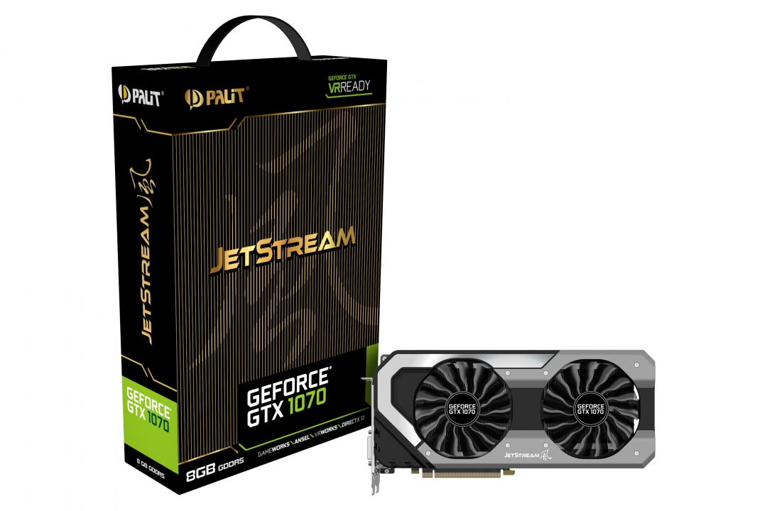 Видео карта Palit GTX1070 JETSTREAM 8GB