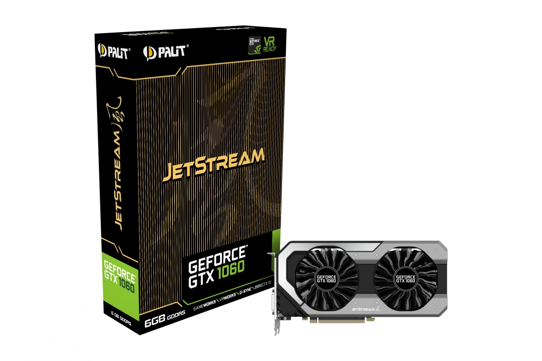 Видео карта Palit GTX1060 JETSTREAM 6GB G5