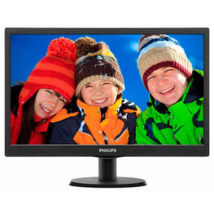 "Philips 18.5""Slim LED 1366x768 HD"