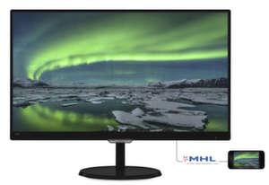 "Philips 23""IPSмонитор с Flickr Free"