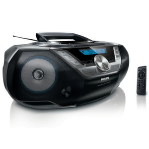 Philips CDрадиокасетофон AZ780