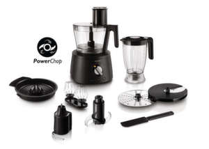PhilipsКухненски робот Avance Collection 1300W, 3.4 L - black