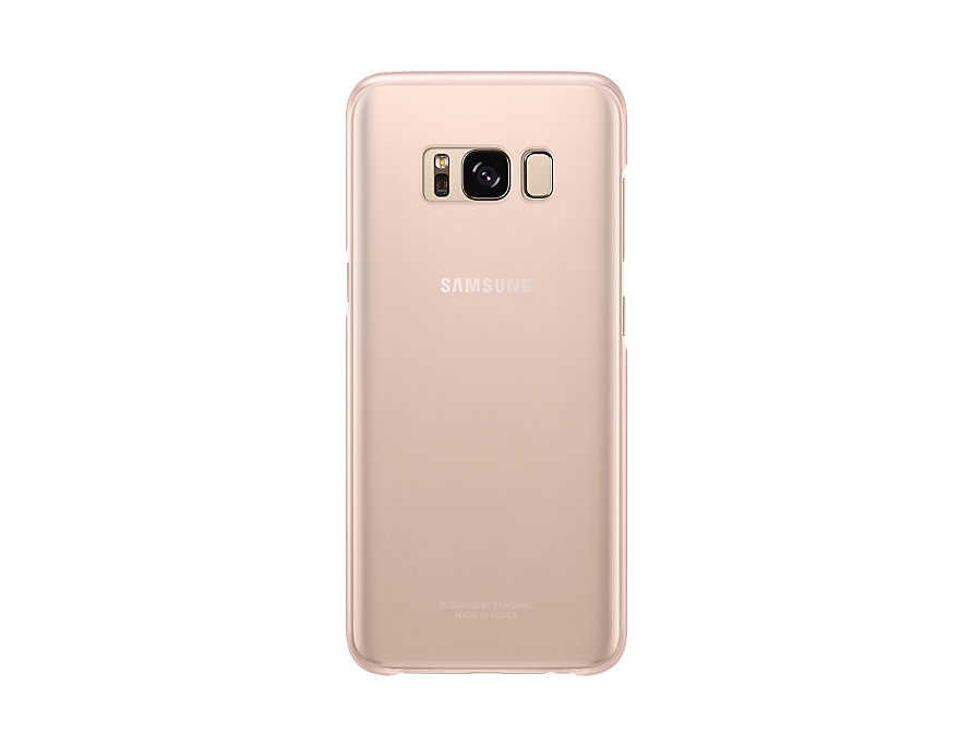 Samsung S8 Dream Clear Cover Pink