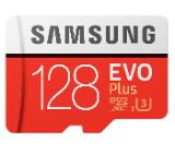 Samsung 128GB micro SD Card EVO+ with Adapter, Class10, Read 100MB/s - Write 90MB/s