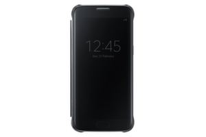 Samsung Galaxy S7, Clear View Cover, Black