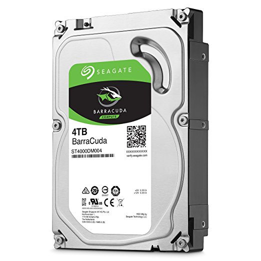 Seagate BarraCuda 4TB 5400rpm 256MB SATA3 3,5""
