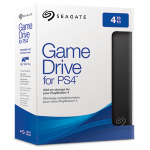 Seagate EXT 4T SG GAME DRIVE/PS4/USB3