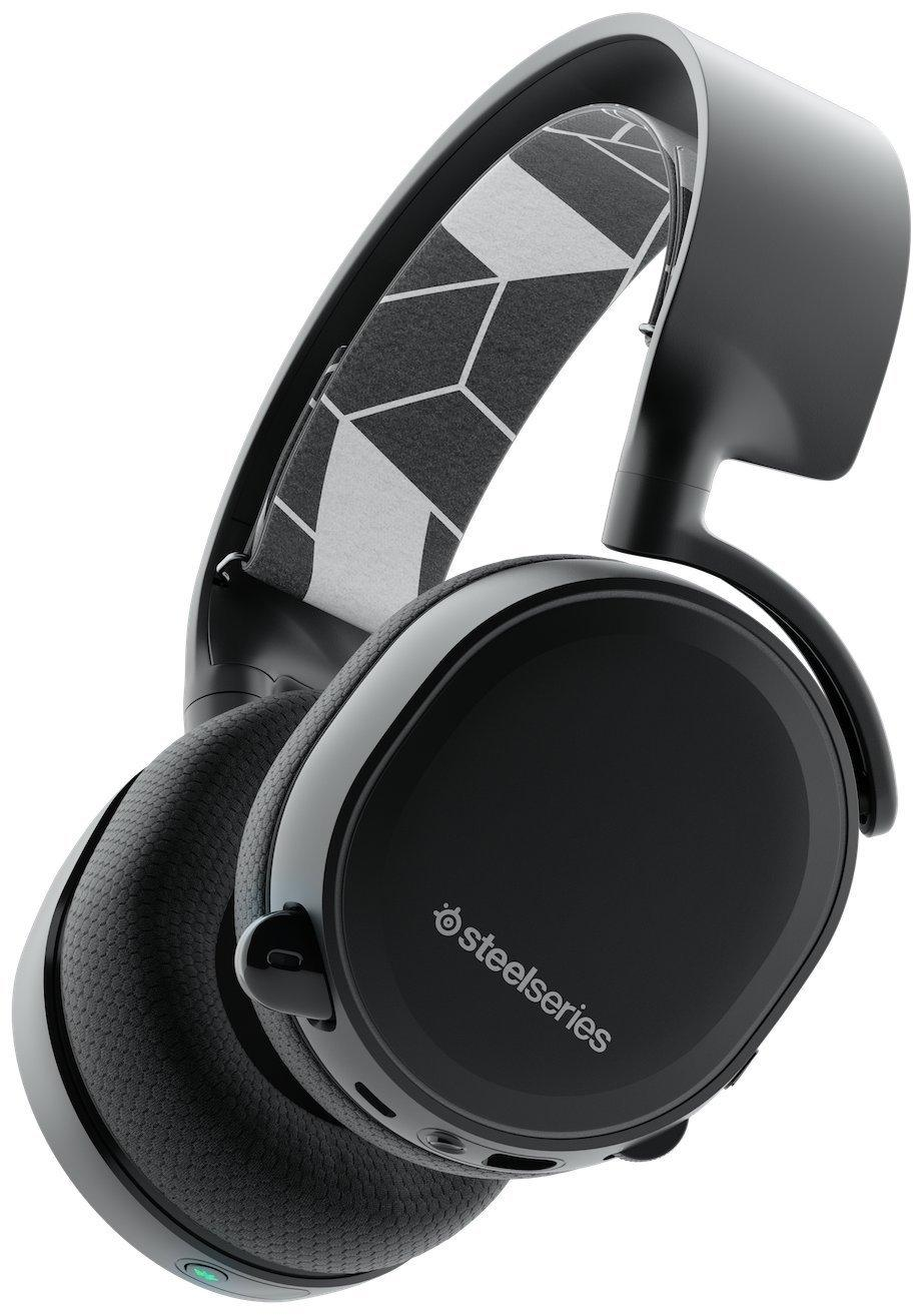 Bluetooth Gaming Headset SteelSeries, Arctis 3 Black, Microphone