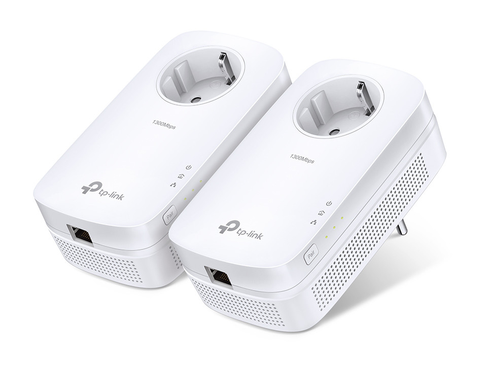Powerline TP-Link TL-PA8010P KIT AV1200 Gigabit Passthrough