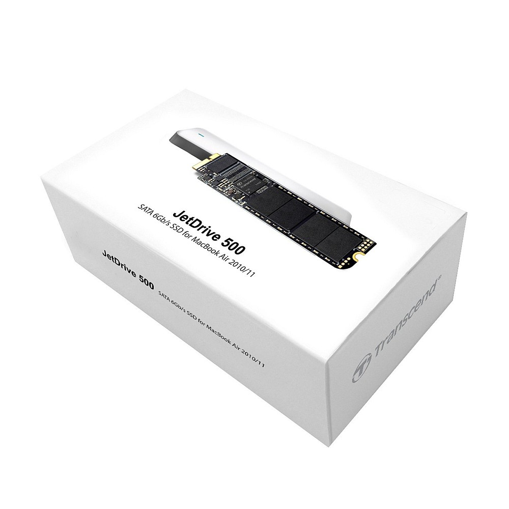 Transcend JetDrive 500 240GB - SSD upgrade kit for Macbook AIR and Macbook Pro-2-1-4