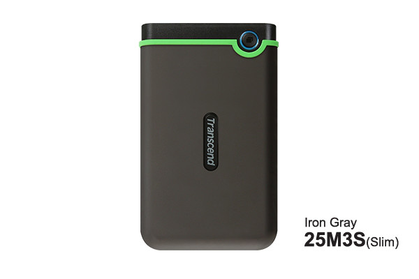"Transcend 4TB, 2.5"" Portable HDD, StoreJet M3, Iron Gray"