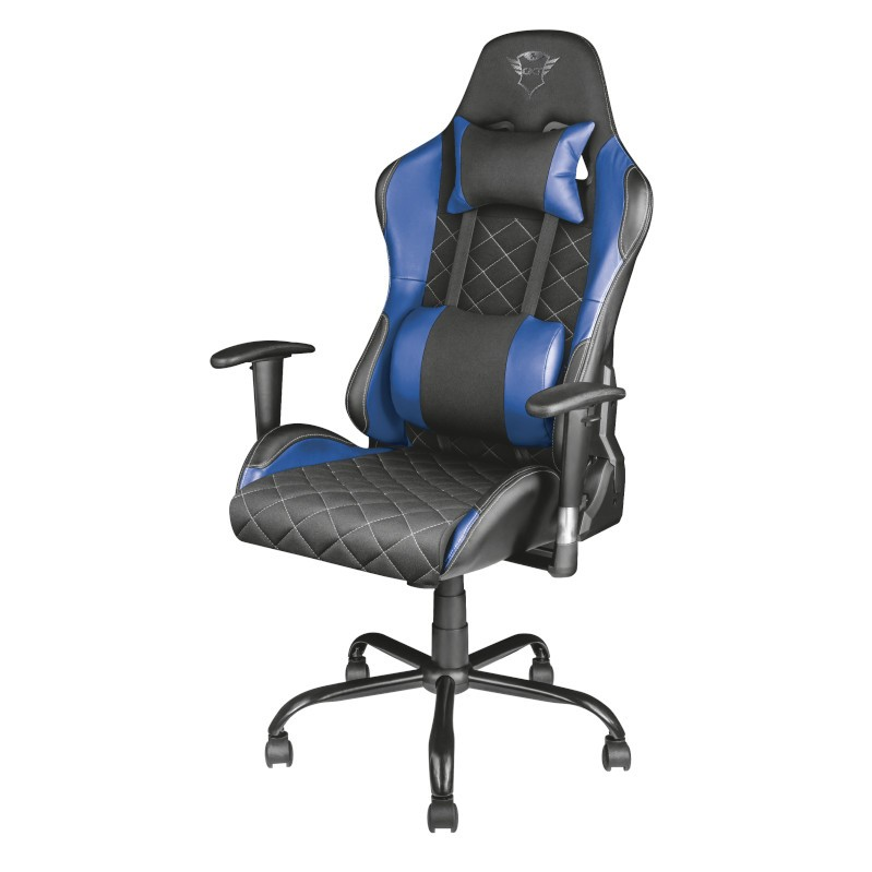 TRUST GXT 707B Resto Gaming Chair - blue-2-1-4