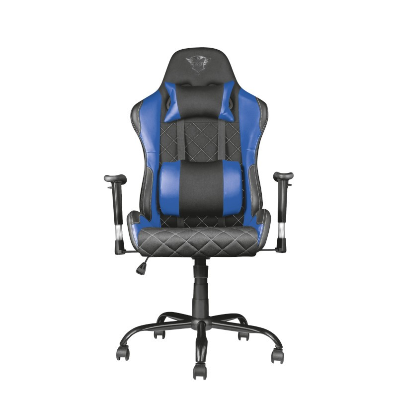 TRUST GXT 707B Resto Gaming Chair - blue-1-2-1