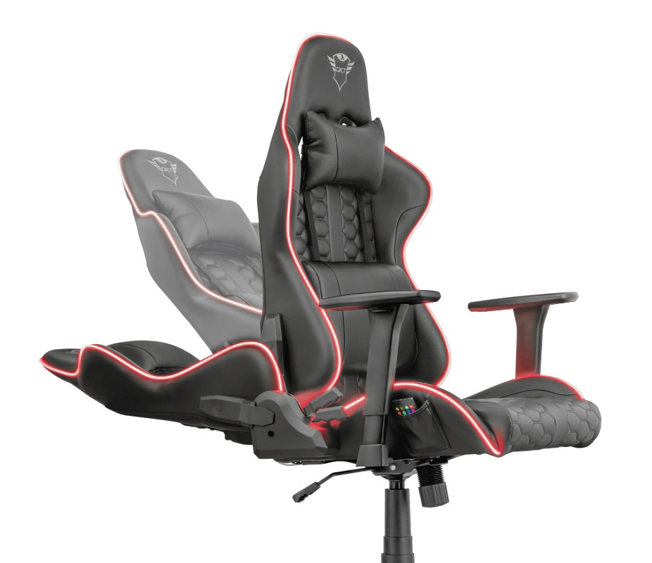 TRUST GXT 717 Rayza RGB Led Chair-1-1-3