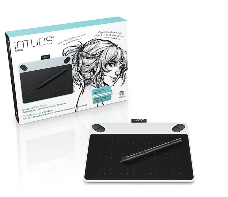 Intuos Draw White Pen S