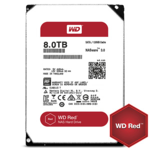 HDD 8TB SATAIII WD Red 128MB for NAS 3