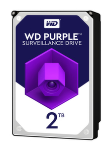 HDD 2TB SATAIII WD Purple 64MB for DVR/Surveillance 3