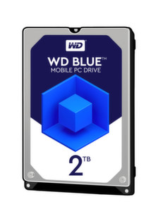 "HDD 2TB WD Blue 2.5"" SATAIII 128MB 7mm 2"