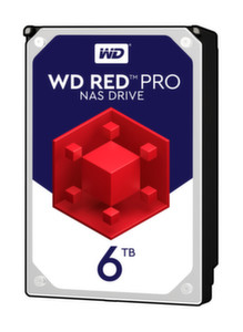 HDD 6TB SATAIII WD Red PRO 7200rpm 256MB for
