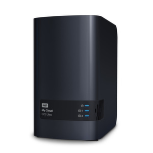 HDD 6TB LAN 1000Mbps NAS MyCloud EX2 ULTRA 2-bay
