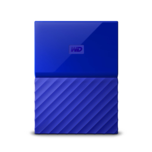 HDD 2TB USB 3.0 MyPassport THIN Blue 3 years