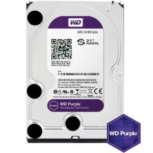 HDD 6TB SATAIII WD Purple 64MB for DVR/Surveillance (3 years warranty)